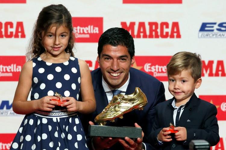 Luis Suárez wint voor de tweede keer in zijn carrière de Europese Gouden Schoen