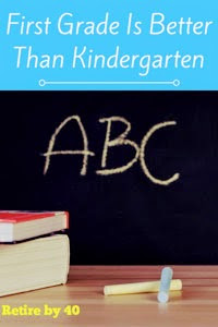 SAHD Update – First Grade Is Better Than Kindergarten thumbnail
