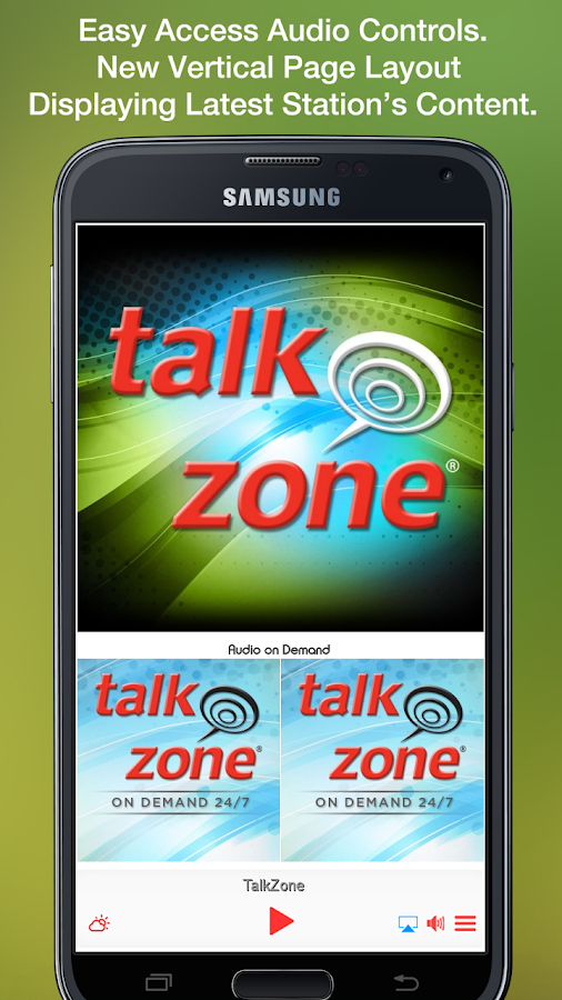 TalkZone- screenshot