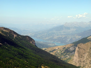 Photo: Serre-Ponçon, depuis le col Girabeau