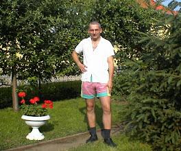 Photo: Én az udvaron