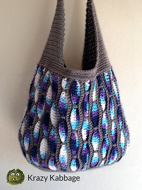 Feather Storm Tote Crochet Pattern