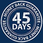 45 Day Money Back Guarantee