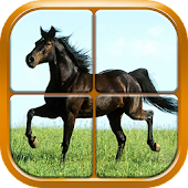 Horse Puzzle Games for Girls