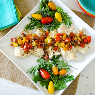 21 Day Fix Instant Pot Chicken with Brushetta Topping Recipe