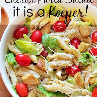 Caesar Pasta Salad.