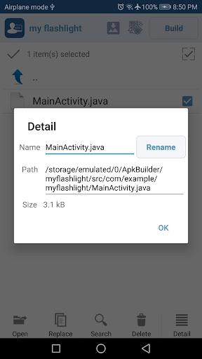 APK Builder 1.0.9 screenshots 8