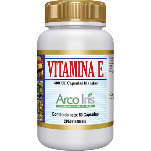 vitamina e vit e 60capsulas arcoiris
