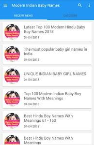 Hindu baby boy name