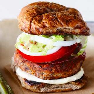 Hazelnut and Bean Burger.