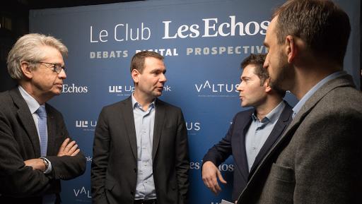 Lancement du Club Les Echos-Digital avec Alexandre Ricard et Pierre-Yves Calloc'h de PERNOD RICARD