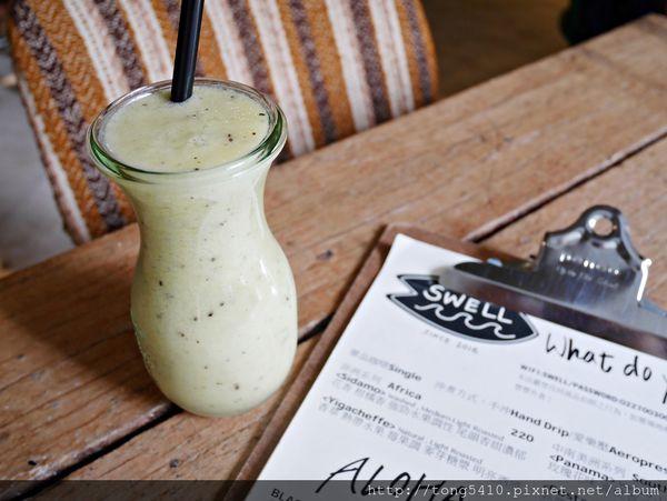 SWELLO CO. CAFE,衝浪主題的咖啡廳 . 猶如都市中的綠洲般,環境愜意舒適 會想再來第二次 ( 捷運大安站 )