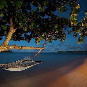 Dream by Rob Rickman - Landscapes Travel ( ocean, beach, hammock )