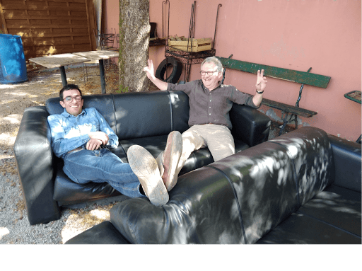 Opération déménagement : BNP Rel Estate fait don de mobilier à L'Arche à Lyon
