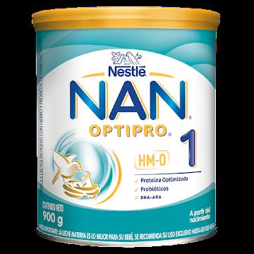 FÓRMULA INFANTIL NESTLE   NAN OPTIPRO 1 X900G