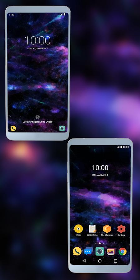 Deep Purple Theme for LG G6 G5 V20 V10 APK Cracked Free Download