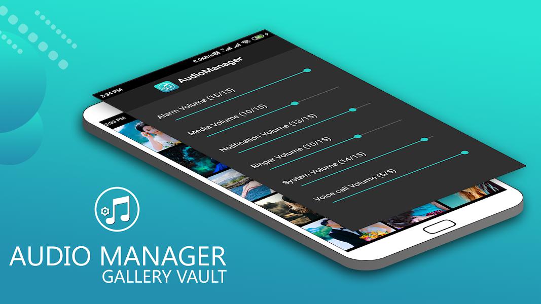 Audio Manager Gallery Vault: Hide photos-videos