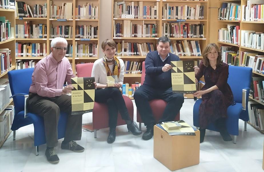 El Institut Valencià de Cultura presenta, junto a la FSMCV y Bankia, el concierto y el Congreso Música a la Llum
