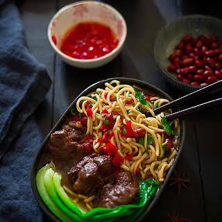Beef Noodle Soup.