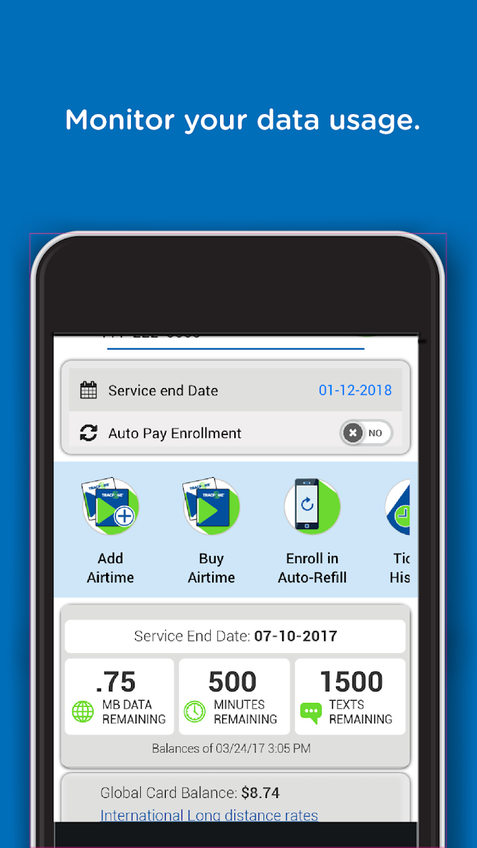TracFone My Account Android 2