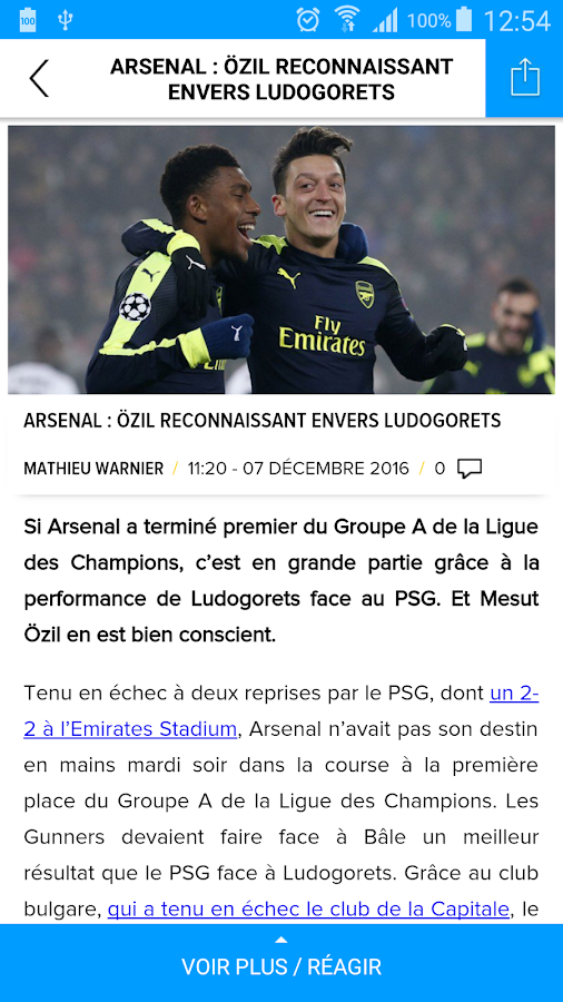 Sport365- screenshot