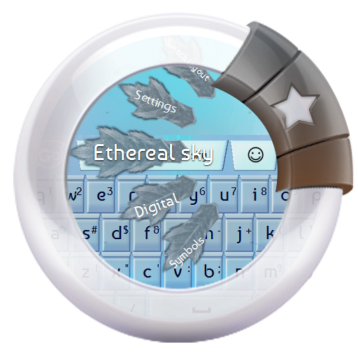 Etherealの空 GO Keyboard 個人化 App LOGO-APP開箱王