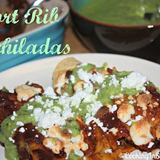 Short Rib Enchiladas
