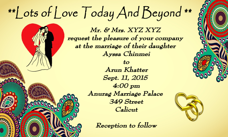 Wedding Invitation Cards maker Android Apps on Google Play – Marriage Invitation Card Designs Indian