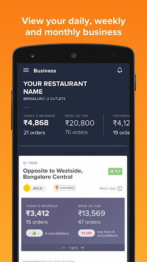 Swiggy Partner App 5.0.4 screenshots n 2