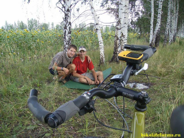 велопоход Воронеж - Дивногорье - Лиски