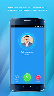 DROTR Calls and chats with translation - náhled