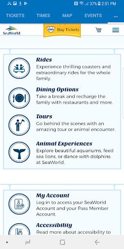 SeaWorld Discovery Guide 6.1 screenshots 6