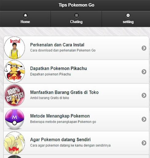 cheat Pokemon Go 1.0 screenshots 9
