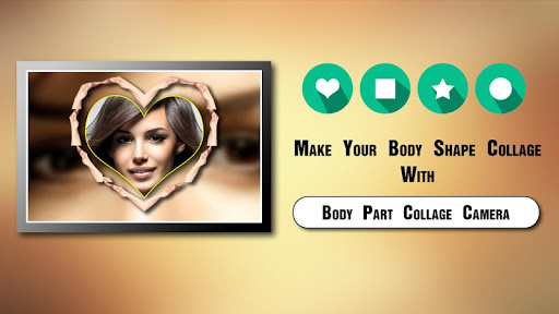 Body Part Collage Camera