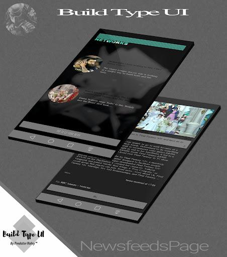 Build Type UI Kustom Pro/Klwp screenshot 7