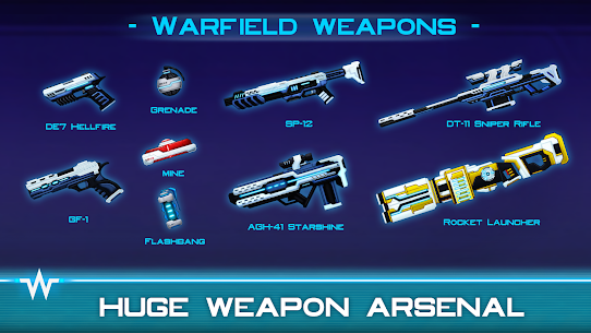 Warfield: Tactical Arena Shooter MOD APK [Free Shopping] 1.9.3 4