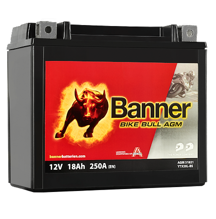 Banner Mc Batteri AGM YTX20L-BS 12V 18Ah