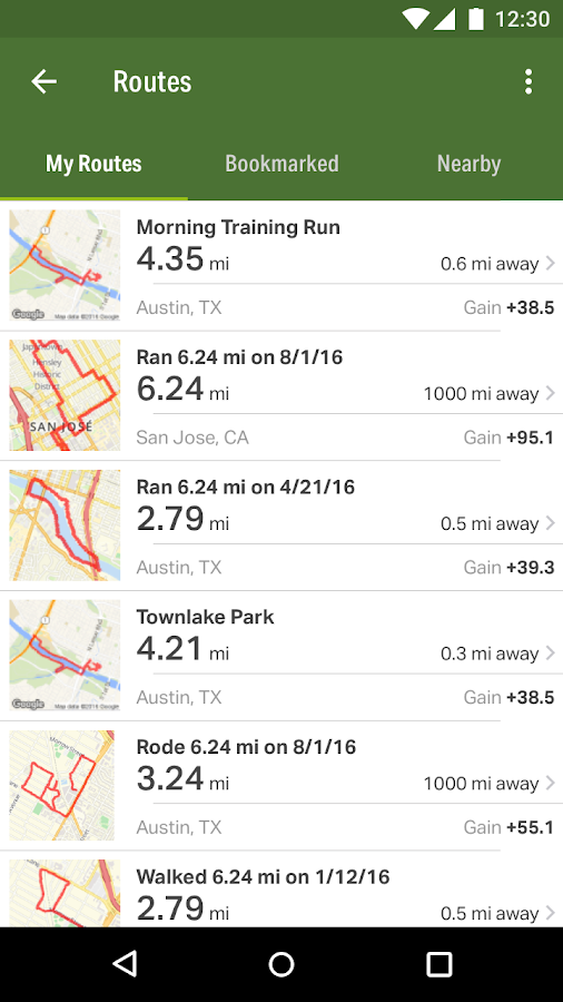 Map My Hike GPS Hiking- screenshot