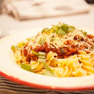 Hearty Pasta Sauce With Hidden Vegetables