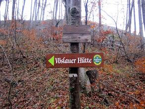 Photo: Wir gehen zunächst Richtung Vöslauer Hütte.