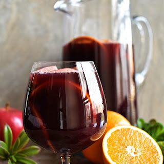 Spiced Traditional Red Sangria.