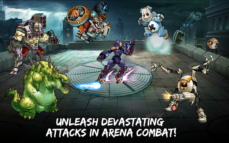 android Mutants: Genetic Gladiators Screenshot 7