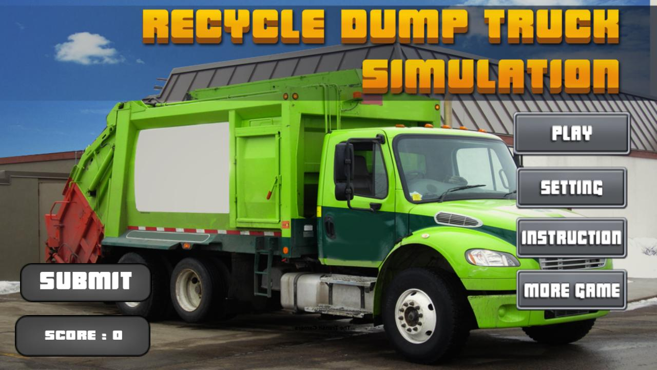 recycle dump truck simulator android apps on google play