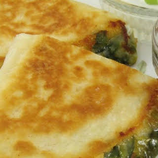 Jalapeno Popper Quesadillas.