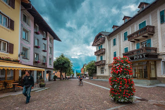 Photo: The town of Dobbiaco, Italy; part of the Dolomites. | http://blog.kait.us/2014/06/hiking-dolomites.html