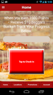 Beggars Pizza Loyalty - náhled