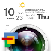 Lens Theme for Total Launcher