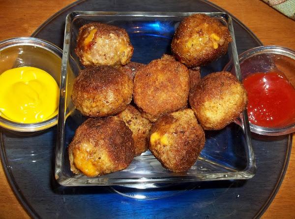 Bacon Cheeseburger Balls Recipe