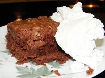 THE moistiest chocolate cake