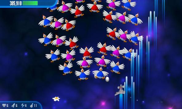 Chicken Invaders 3 apk تصوير الشاشة